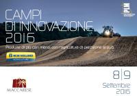 Campi di innovazione 2016