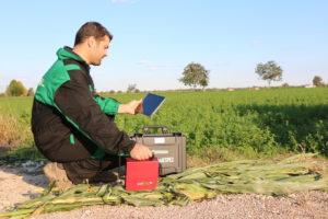 Misurazione dei contenuti nutritivi delle colture