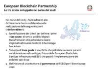 Nel futuro una piattaforma blockchain europea?